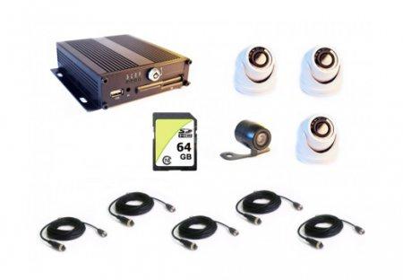 Комплект видеонаблюдения для автобуса, маршрутного такси