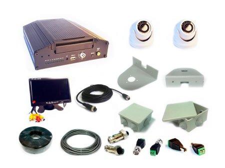 Комплект видеонаблюдения для спецтранспорта