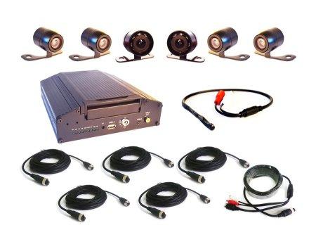 Комплект видеонаблюдения для автомобиля автошколы